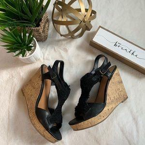 Xhilaration Platform Wedge Sandal